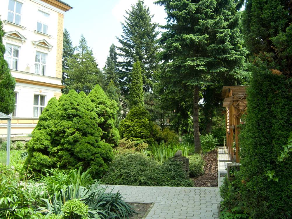 Arboretum Střední lesnické školy v Hranicích